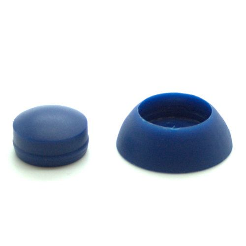 Blue Secure Cover Cap